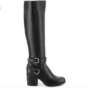 Steve Madden Black Gabbrie Tall Boots 8.5M